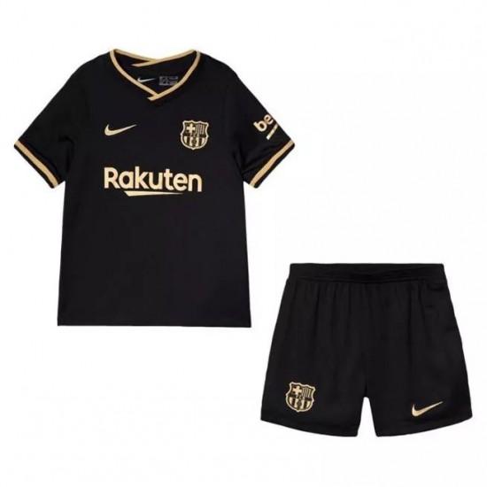 Barcelona Away Kids Kit 2020 2021