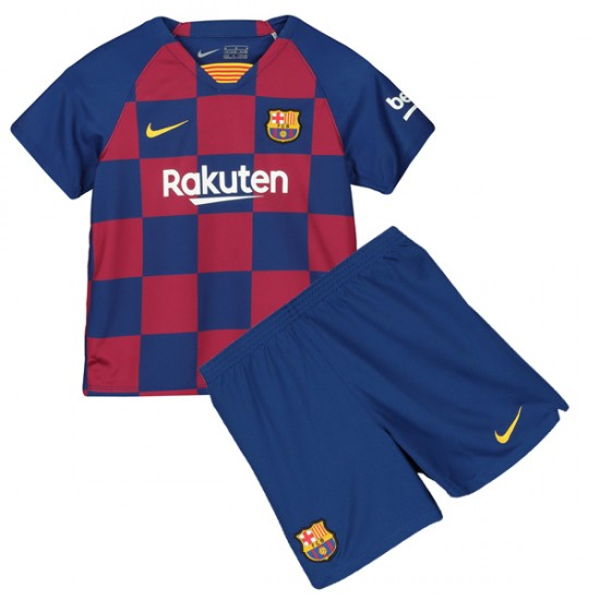 Barcelona Home Kit 2019 2020 - Kids