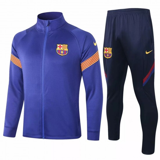 FC Barcelona Soccer Presentation Tracksuit 2020
