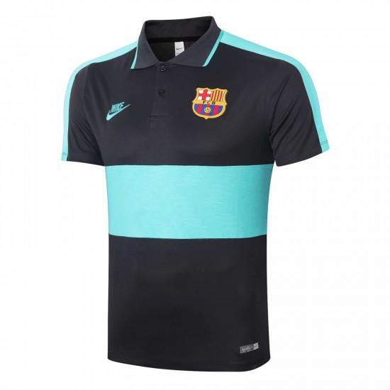 FC Barcelona Black Polo Shirt 2020