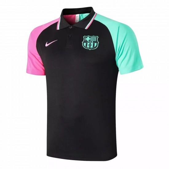 FC Barcelona 2020 Colourful Polo Shirt