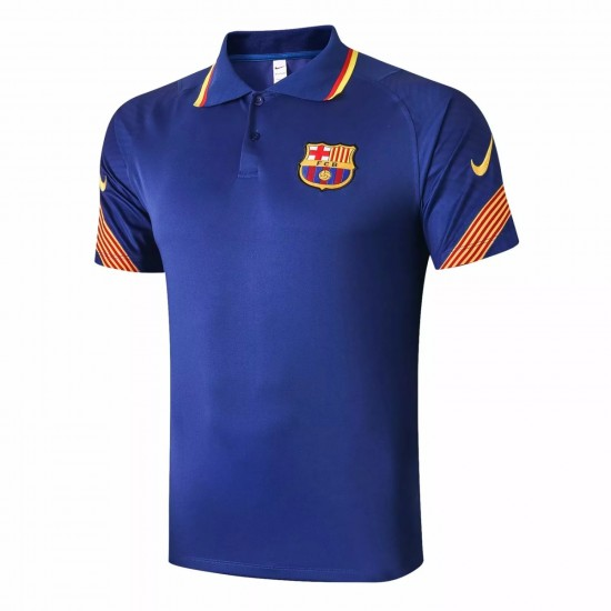 FC Barcelona Blue Polo Shirt 2020