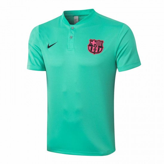 Barcelona Polo Shirt Green 2020