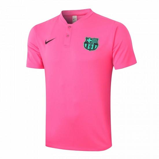 Barcelona Polo Shirt Pink 2020