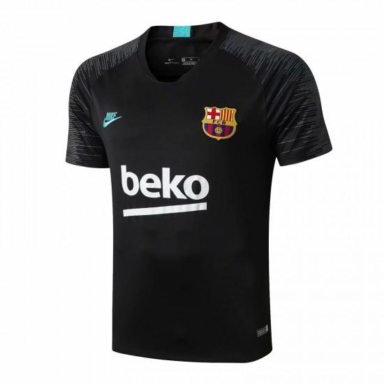 Barcelona 2019 2020 Strike Training Black Jersey