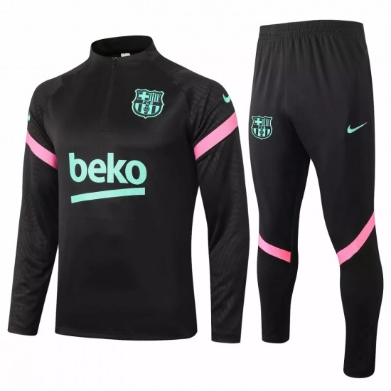 FC Barcelona Soccer Training Technical Tracksuit 2020 Black