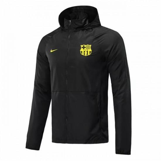 FC Barcelona All Weather Windrunner Jacket Black 2020 2021