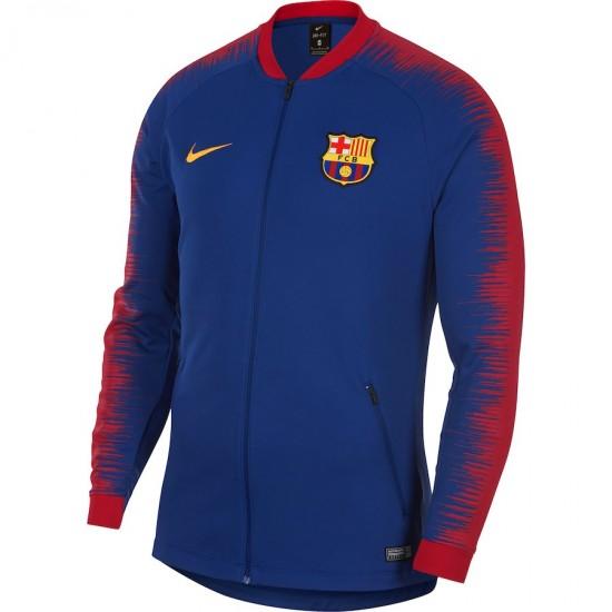 FC Barcelona 2018/19 Anthem Full-Zip Jacket – Blue