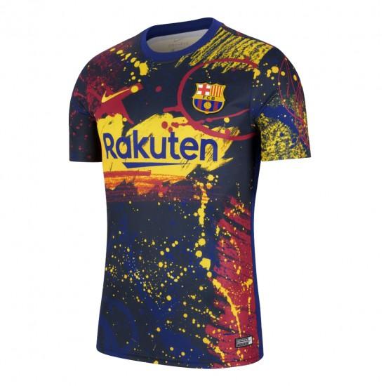 Barcelona Pre-Match Training Jersey 2020