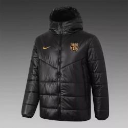 Barcelona Training Winter Jacket Black 2020 2021