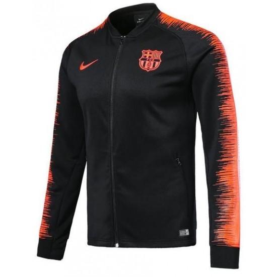 FC Barcelona 2018/19 Anthem Full-Zip Jacket – Black