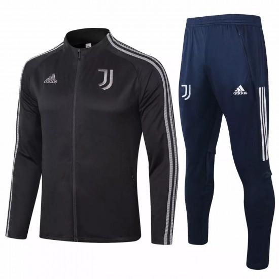 Juventus Presentation Soccer Black Tracksuit 2020