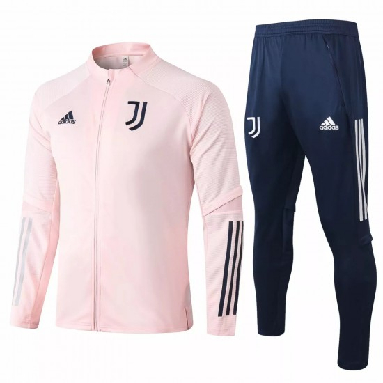 Juventus Presentation Soccer Pink Tracksuit 2020
