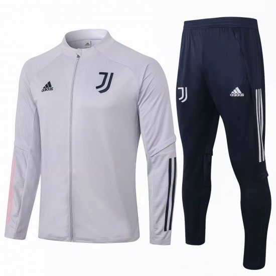 Juventus Presentation Soccer White Tracksuit 2020