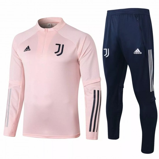 Juventus Soccer Technical Training Pink Tracksuit 2020