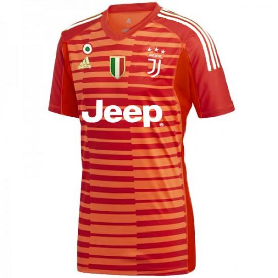 Juventus adidas 2018-2019 Red Goalkeeper Jersey