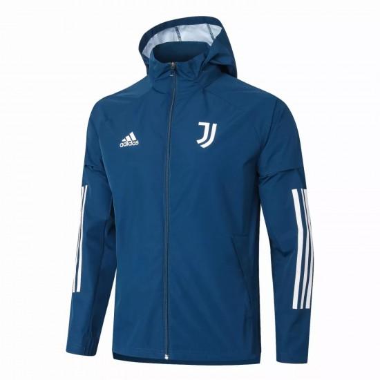Juventus Blue Training Storm Jacket 2020 2021