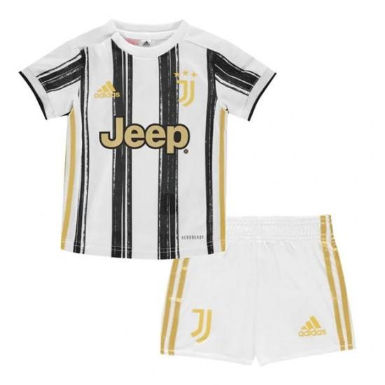Juventus Home Kids Kit 2020 2021