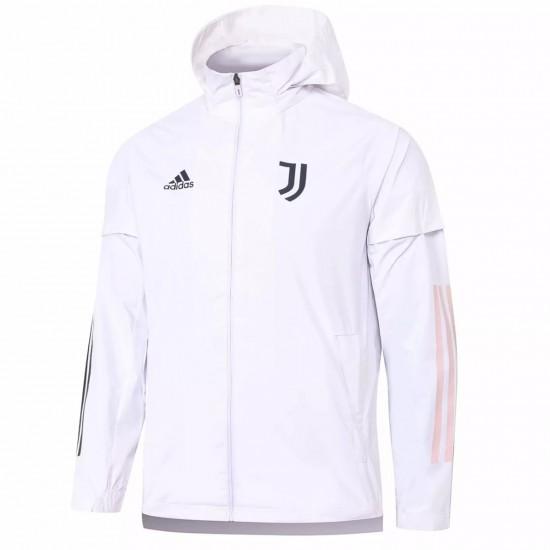 Juventus White Training Storm Jacket 2020 2021