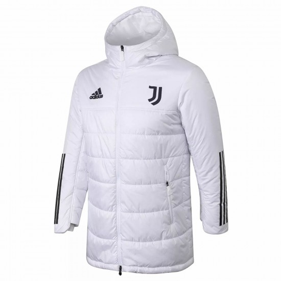 Juventus White Winter Jacket 2020 2021