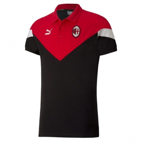 AC Milan Black Iconic MCS Polo 2020