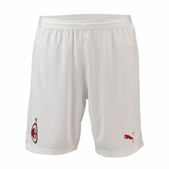 AC MILAN WHITE HOME/AWAY SHORTS 2018/19