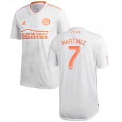 Men's Atlanta United FC Josef Martinez adidas White 2018 King Peach Authentic Player Jersey
