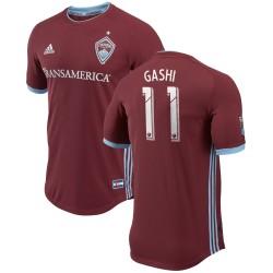Men's Colorado Rapids Shkelzen Gashi adidas Burgundy 2018 Primary Authentic Player Jersey