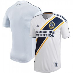 LA Galaxy 2018 adidas Authentic Primary Jersey - White
