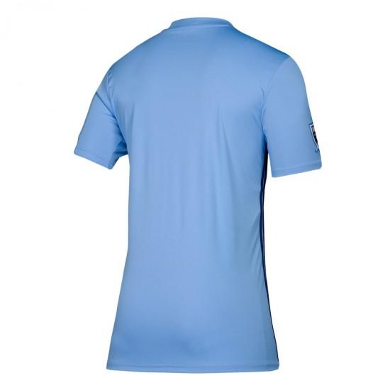 Men's New York City FC adidas Blue 2019 Primary Jersey