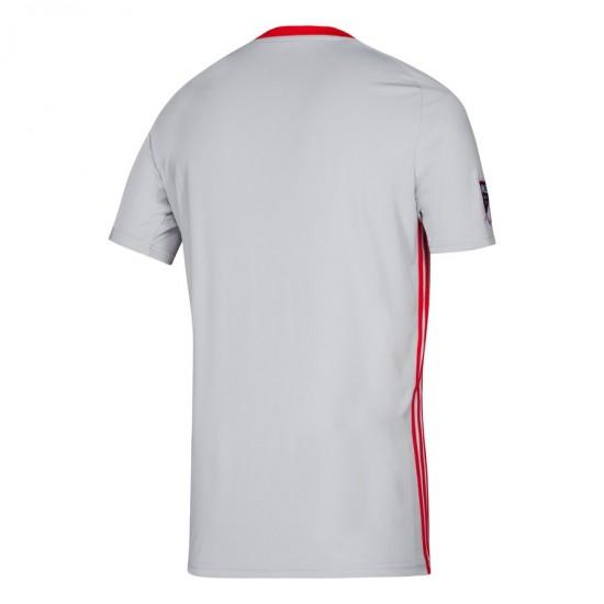 Men's New York Red Bulls adidas Gray 2019 Primary Jersey