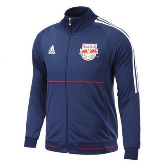 New York Red Bulls Blue Anthem Full Zip Jacket