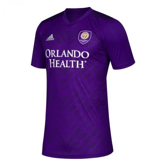 Men's Orlando City SC adidas Purple 2019 Bring The Noise Team Jersey