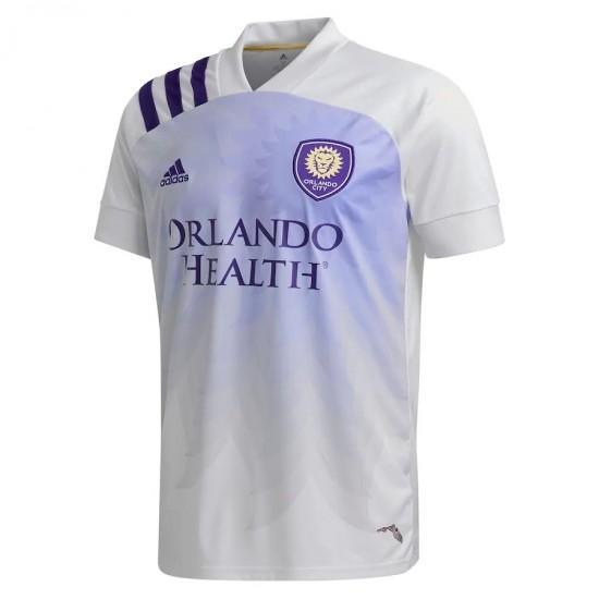 Men's Orlando City SC adidas White 2020 Heart and Sol Jersey