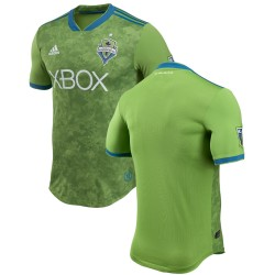 Men's Seattle Sounders FC adidas Green 2018 Primary Authentic Jersey