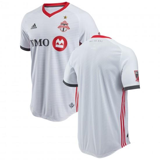 Men's Toronto FC adidas White 2018 Secondary Authentic Jersey