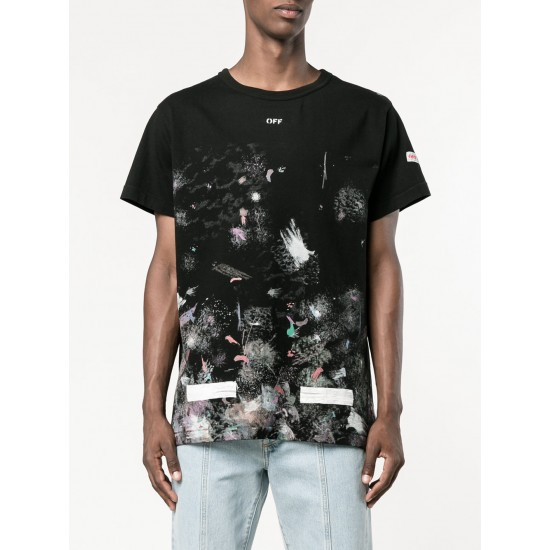 Off-White Graffiti Fireworks Tee