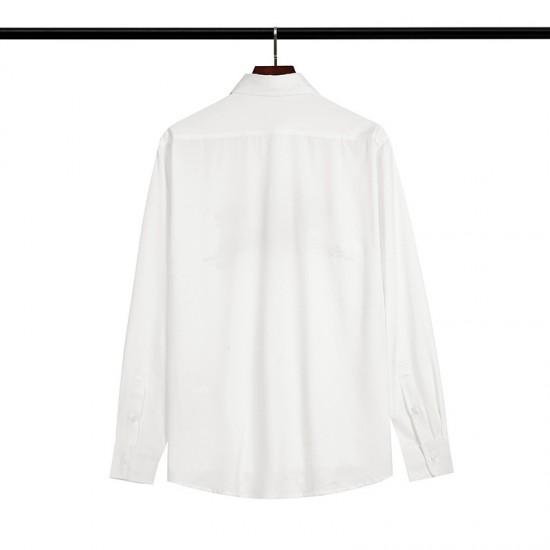 2020 SS OFF-WHITE Letter Wrench Printing Men's Shirt White