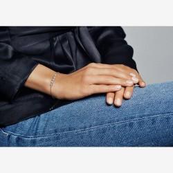 Pandora Round Sparkle Slider Bracelet