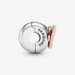 Pandora Freehand Heart Clip Charm