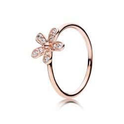 Pandora Dazzling Daisy, PANDORA Rose™ & Clear CZ