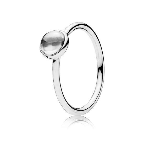 Pandora Poetic Droplet, Clear CZ