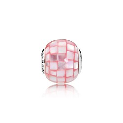 Pandora COMPASSION, Pink Mother/of/Pearl Mosaic