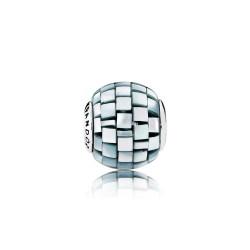 Pandora BALANCE, Blue/Grey Mother/of/Pearl Mosaic