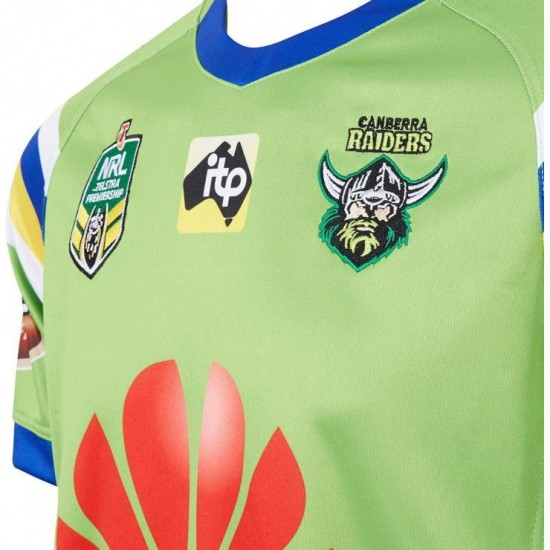 Canberra Raiders 2018 Men's Home Jersey