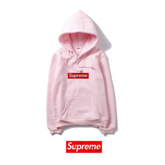 Supreme Pink Hoodie