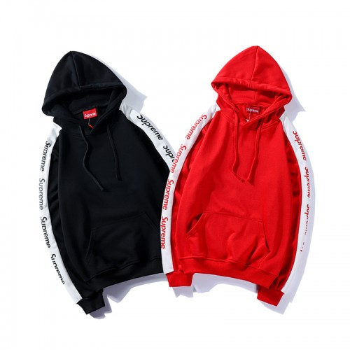 Supreme Autumn And Winter Youth Hooded Sweatshirt