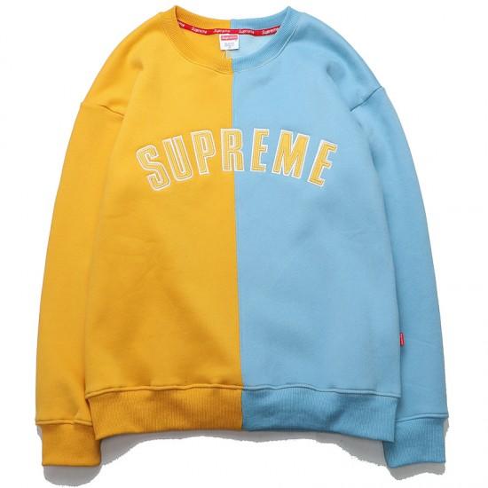 Supreme Split Crewneck Sweatshirt