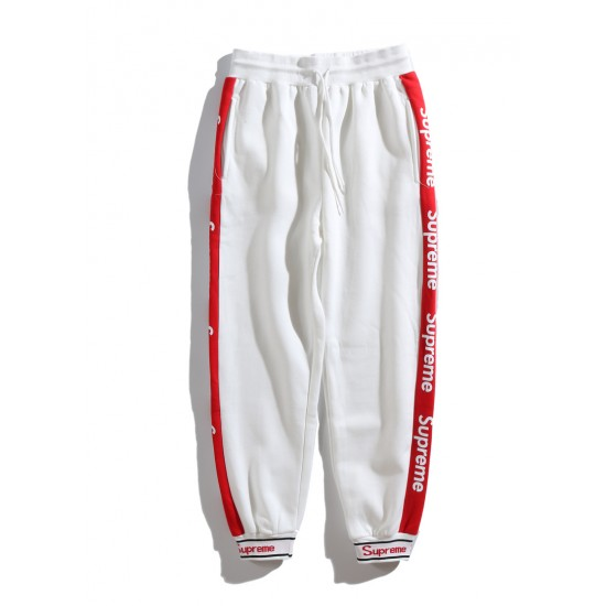 Supreme Trousers With Lateral Red Bands