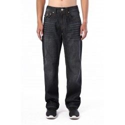 True Religion Mens Jeans All Black